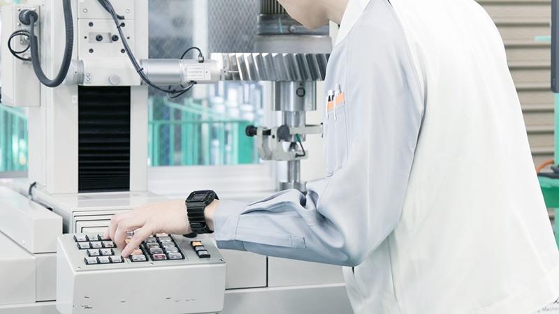 CNC歯車測定機